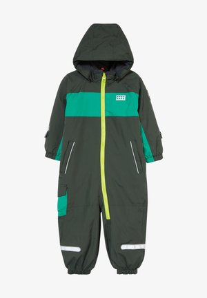 LWJULIO 707 SNOWSUIT - Skipak - dark green
