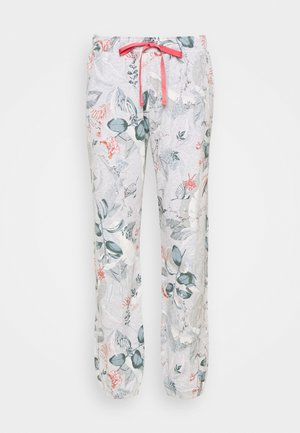 MIX MATCH TROUSERS - Pyjama bottoms - medium grey melange