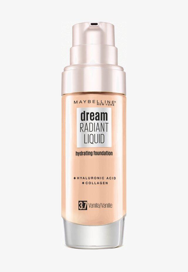 DREAM RADIANT LIQUID MAKE-UP - Foundation - 37 vanilla