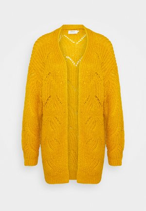 ONLHAVANA LONG CARDIGAN  - Cardigan - golden yellow
