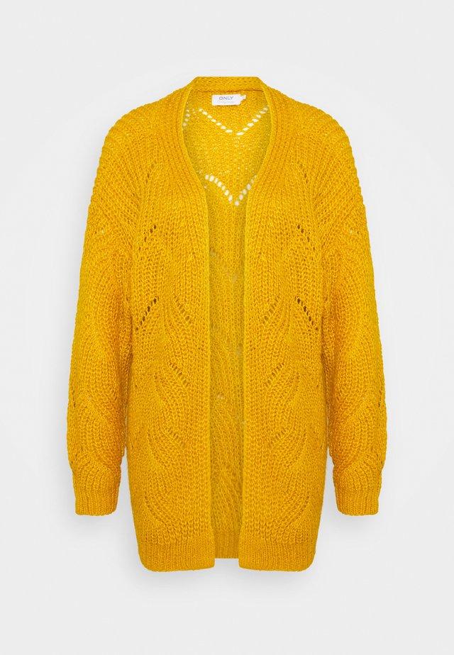 ONLHAVANA LONG CARDIGAN  - Kardigan - golden yellow