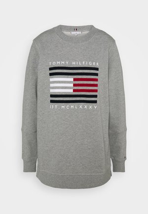 REGULAR FLAG - Sweatshirt - light grey heather
