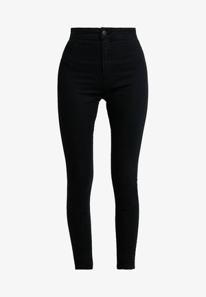 HIGH RISE - Jeans Skinny Fit - solid black