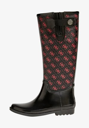 EBERTO - Wellies - red/merf