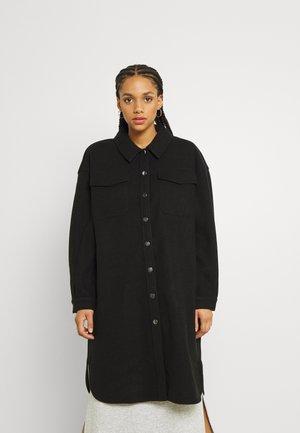 ONLELAINEA LONG SHACKET - Winter coat - black