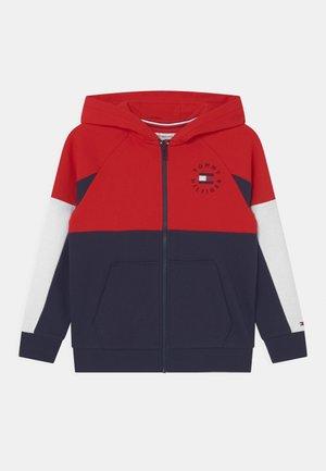 ZIP THROUGH UNISEX - Zip-up sweatshirt - twilight navy