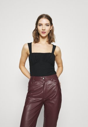 SHAPED BUST - Top - black