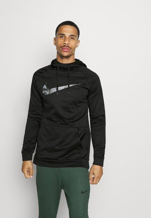 Sweat à capuche - black/smoke grey