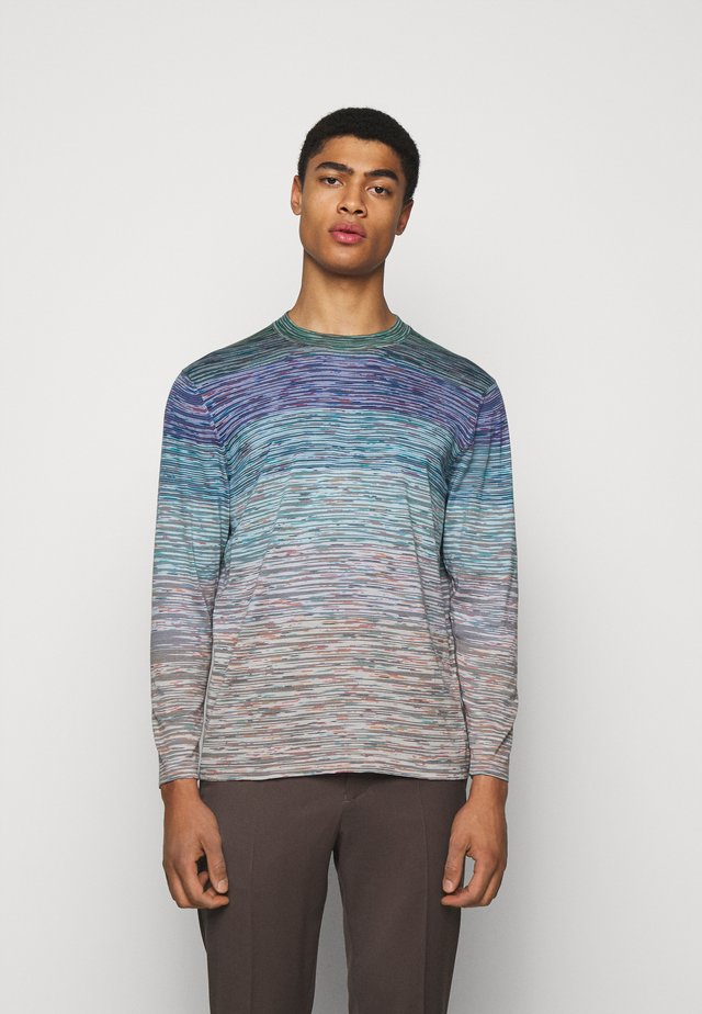 MAGLIA MANICA LUNGA GIROCOLLO - Long sleeved top - multi coloured