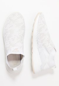 Reebok - EVER ROAD DMX SLIP ON 2 - Neutral running shoes - white/stucco - 1