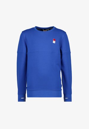 BASIC  - Sweatshirt - backpack blue
