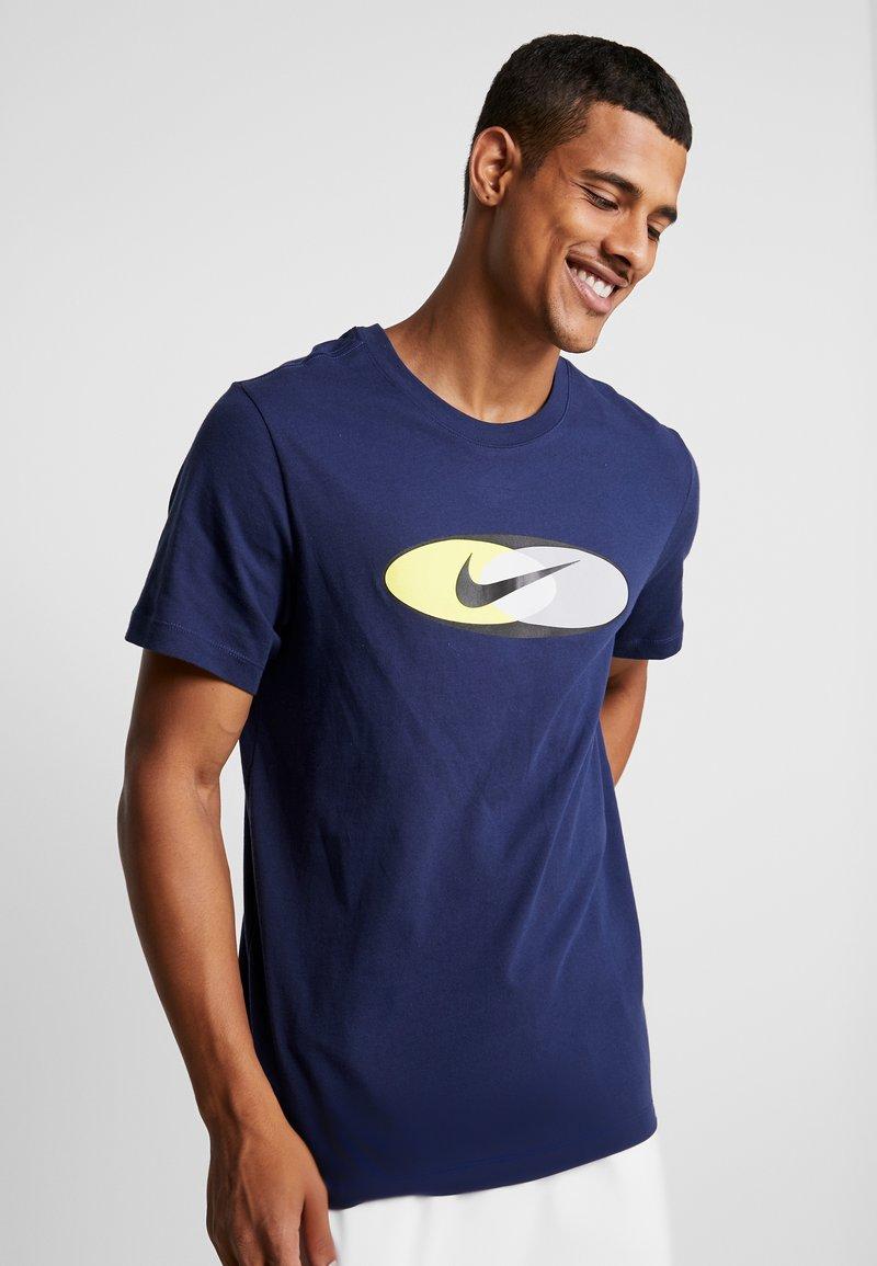 Nike Sportswear - SUBSET TEE - T-shirts print - midnight navy/black/hyper royal