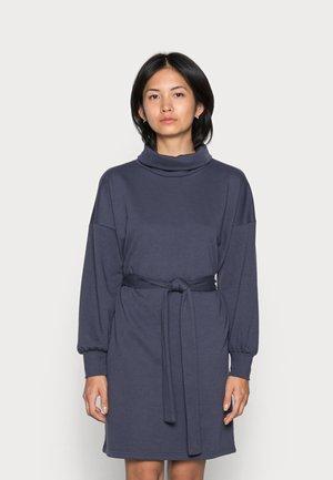 ONLSWEET HIGHNECK DRESS - Day dress - graphite