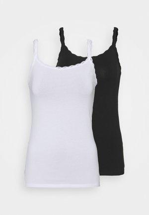 2 PACK - Undertrøye - white/black