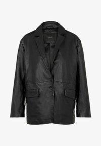 YAS - Leather jacket - black - 6