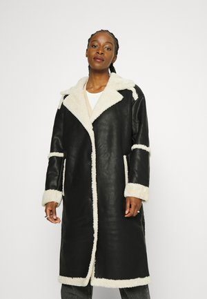 JXCASEY LONG COAT - Mantel - black