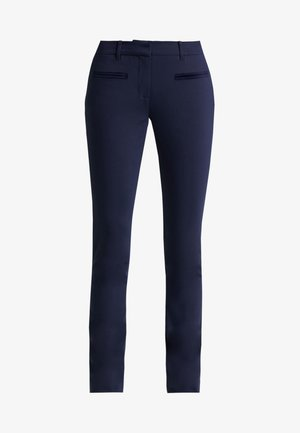 HERITAGE SLIM FIT PANTS - Trousers - midnight