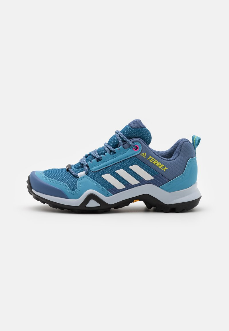 adidas Performance - TERREX AX3 - Hiking shoes - haze blue/crystal white/screaming pink
