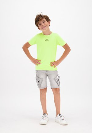 Denim shorts - light grey