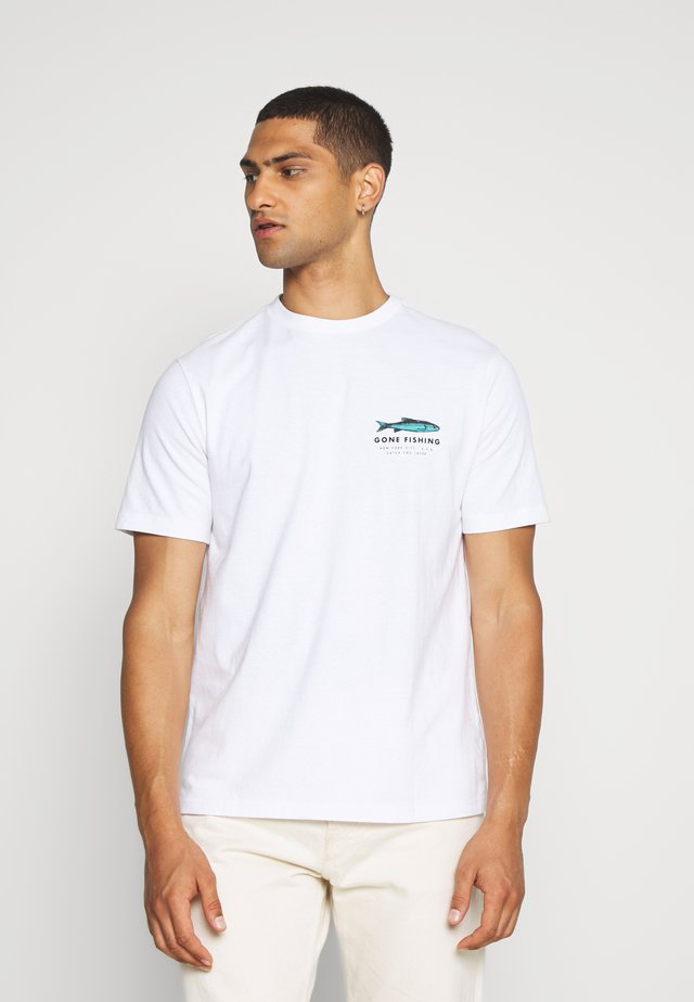 UNISEX SET IN TEE - T-shirts med print - air white