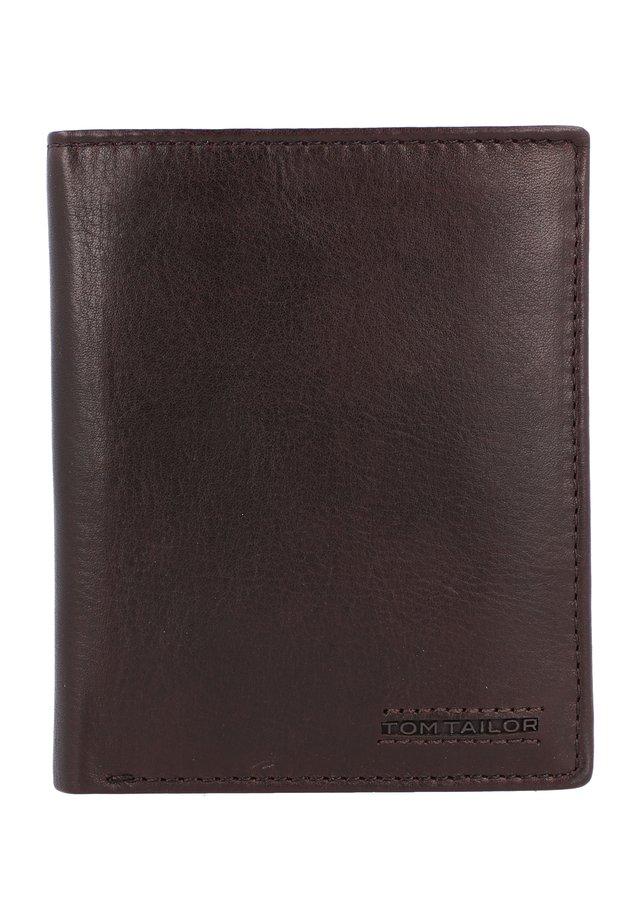 BARRY GELDBÖRSE RFID LEDER 10 CM - Portefeuille - brown