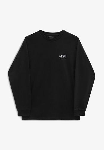 MN LIGHTNING TRIANGLE  - Long sleeved top - black