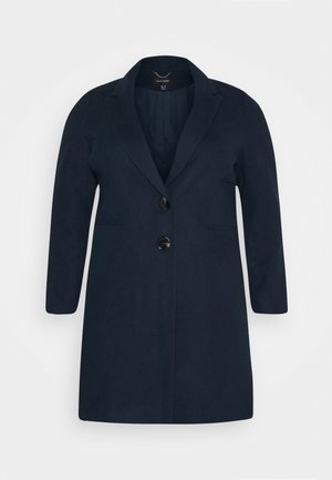 SINGLE BREASTED COAT - Classic coat - navy