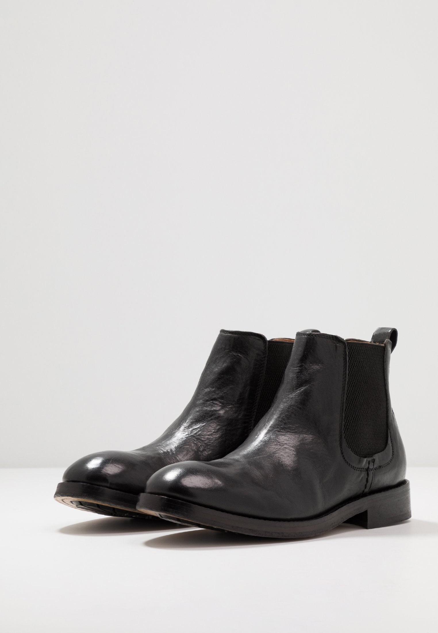 Offer Cheapest Hudson London WISTMAN - Classic ankle boots - black | men's shoes 2020 SM6k5