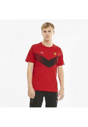 FERRARI RACE - Print T-shirt - rosso corsa