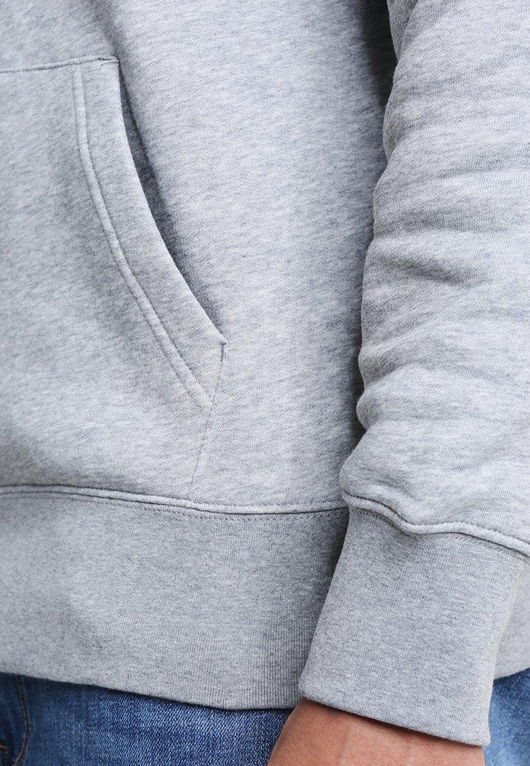 Gant Shield Hoodie - Grey Melange/grå-melert
