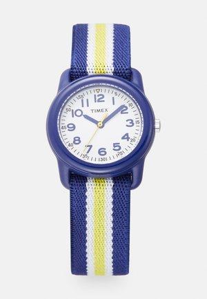 UNISEX - Watch - blue/yellow