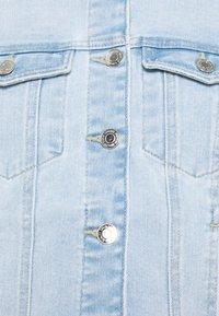 Vero Moda Tall - VMFAITH SLIM JACKET MIX - Jeansjakke - light blue denim - 6