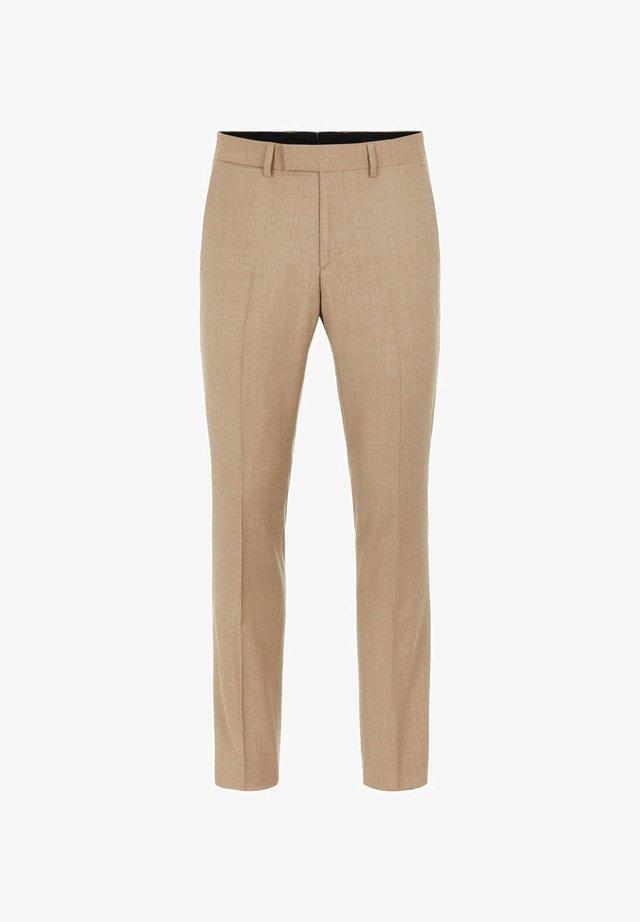 GRANT FLANNEL - Pantalon de costume - sand beige
