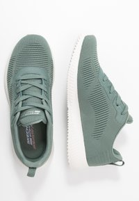 Skechers Sport - BOBS SQUAD - Trainers - green - 3