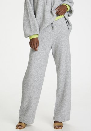FLICKAKB  - Trousers - opal gray melange