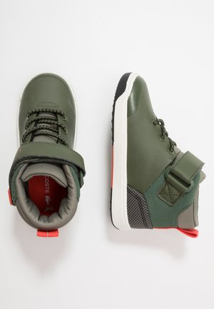 EXPLORATEUR - Sneakers hoog - dark khaki/khaki