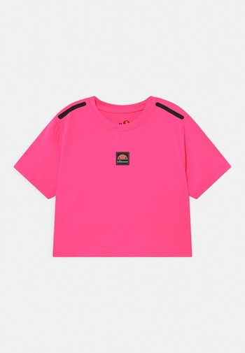 ASALI CROPPED UNISEX - Print T-shirt - neon pink