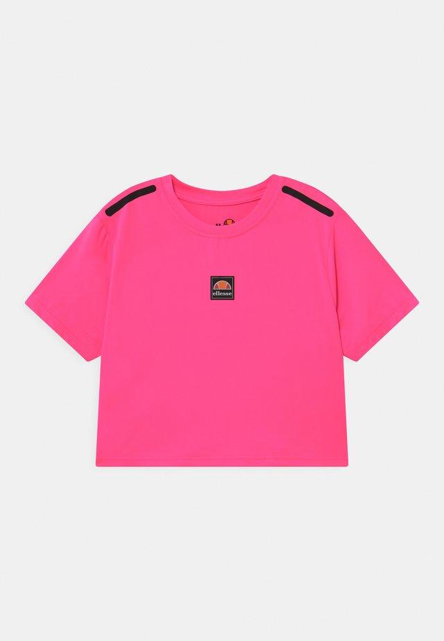 ASALI CROPPED - Print T-shirt - neon pink