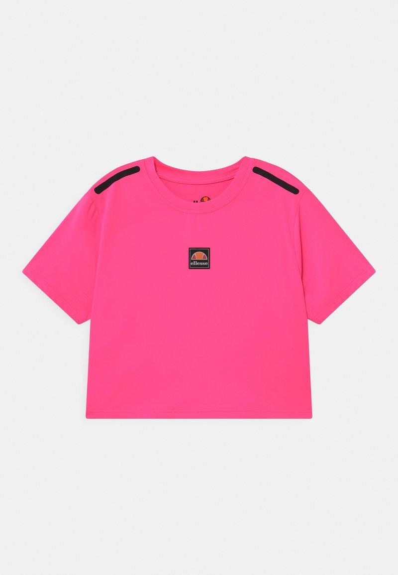 Ellesse - ASALI CROPPED UNISEX - Print T-shirt - neon pink