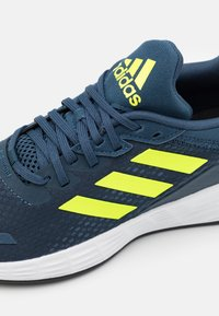 adidas Performance - DURAMO  - Sports shoes - crew navy/solar yellow/halo silver - 5