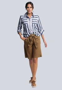 Alba Moda - Button-down blouse - weiß/blau - 1