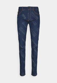 Versace Jeans Couture - HARRY LASER LOGO - Slim fit jeans - light-blue denim - 0