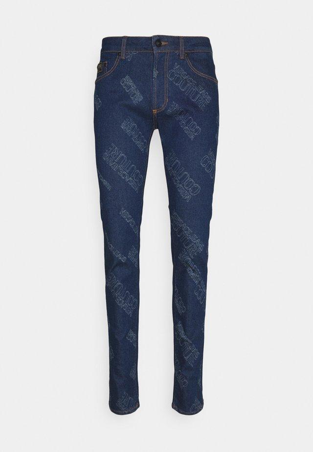 HARRY LASER LOGO - Jeans slim fit - light-blue denim