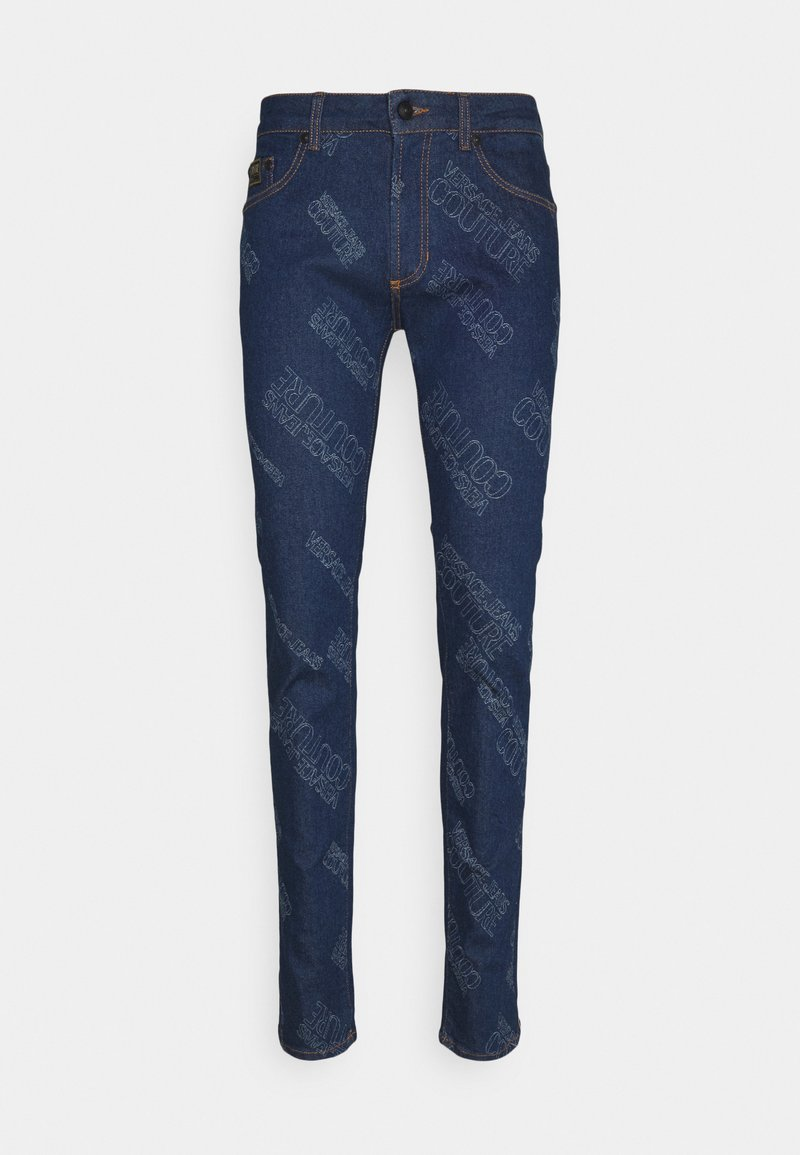 Versace Jeans Couture - HARRY LASER LOGO - Slim fit jeans - light-blue denim