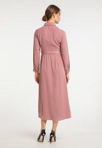 usha - Shirt dress - dunkelrosa - 2