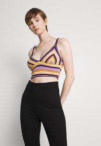 BDG Urban Outfitters - CROCHET BRA TOP - Top - pink - 0