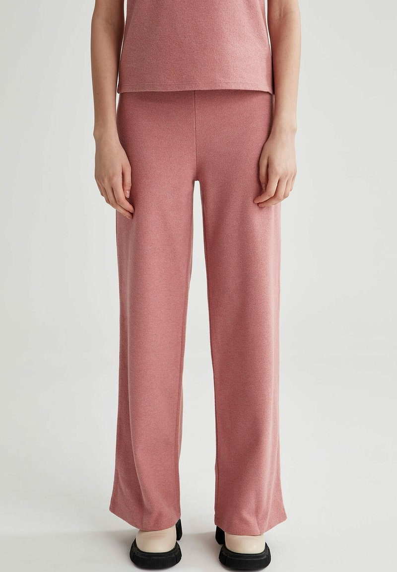 DeFacto - Trousers - pink