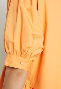 Missguided - OVERSIZED SHIRT MIDI DRESS - Maxi dress - orange - 5