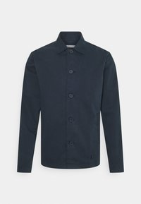 KnowledgeCotton Apparel - PINE OVERSHIRT - Summer jacket - total eclipse - 0