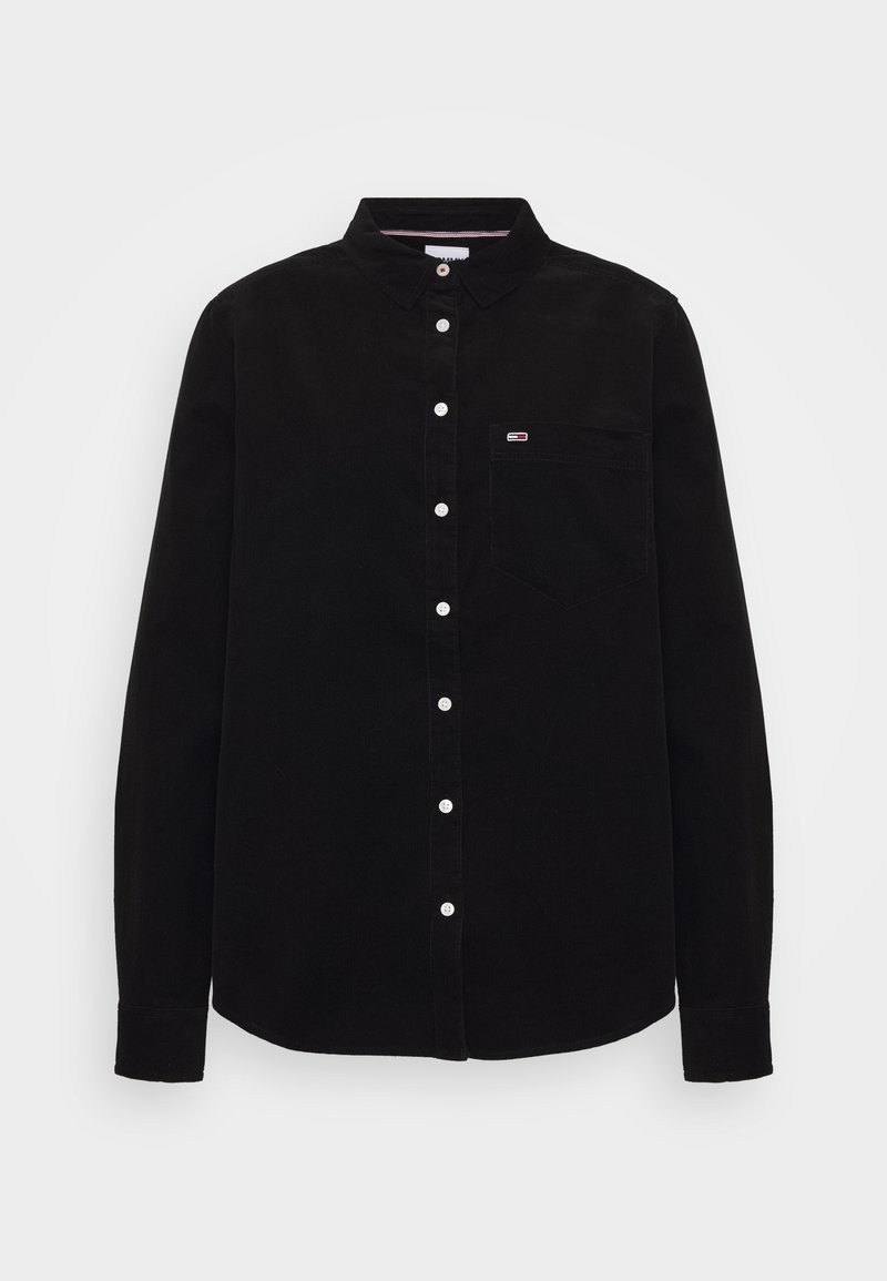 Tommy Jeans - Button-down blouse - black